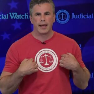 Leftists Can't Cancel THIS! Get YOUR Official Judicial Watch Shirt Now!