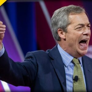 Nigel Farage Celebrates Decline Of Labour Party In The UK