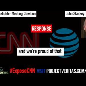 AT&T CEO Responds to Question on #ExposeCNN Videos at Company's Annual Shareholders Meeting