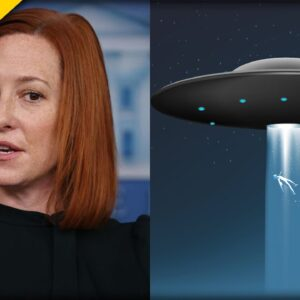 Psaki CONFIRMS Report on UFOs After Reporter Confronts Her In The White House