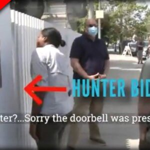 Hunter RUNS When Journalist Shows Up, Parks MASSIVE Billboard Truck In Front of His House