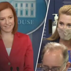 Psaki SNAPS When Reporter Asks Why Kamala Harris Is Taking More Power