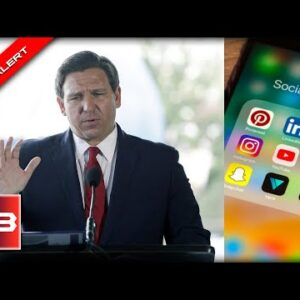 DeSantis Drops the HAMMER on Big Tech, Signs Bill, seconds later the CROWD ERUPTS in Celebration