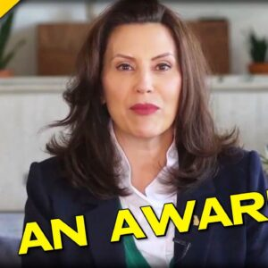 REALLY? Gretchen Whitmer's Latest Award will Make Your Blood BOIL