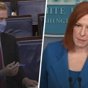 Psaki Instantly Regrets Calling on Fox News When He Exposes Reason Behind Unemployment