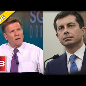 CNBC Host BUSTS out Laughing after Pete Buttigieg Tries to Sell Infrastructure