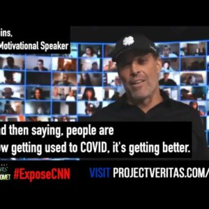 Tony Robbins is PROOF that PV's #ExposeCNN videos transcended MSM silence & social media censorship