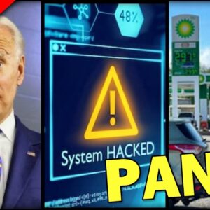 PANIC on East Coast, Gas Stations DRY, Biden Admin in DENIAL after Cyber attack Cripples Pipeline