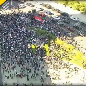 THOUSANDS Flock to the Streets in Chicago to Protest against Israel