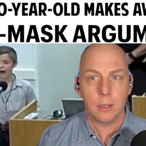 VIRAL 10-YEAR-OLD MAKES AWESOME ANTI-MASK ARGUMENT!
