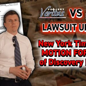 UPDATE: New York Times FILES MOTION FOR STAY of Discovery Process in Veritas' Defamation Case