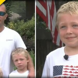 7-Year-Old HERO Boy Comes to the Rescue of Dad, Sister after Boating Mishap