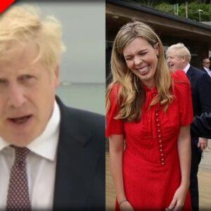 Creepy Joe Biden Can't Keep His Paws Off of Boris Johnson's Young Wife