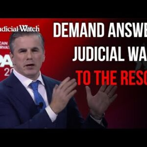 """""""DEMAND ANSWERS on Biden Corruption!"""" Fitton on Fire @ #CPAC 2021"""