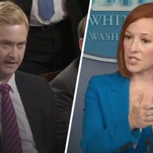Press Sec Gets CORNERED by Fox News Reporter Over Biden's Weak Stance on China