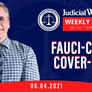 Fauci-COVID Cover-Up? Judicial Watch Takes Chicago Mayor to Court & MORE