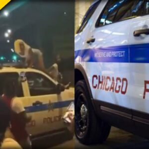 Chicago PD Investigating BLM Thugs who Twerked on top of Police Cruiser