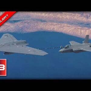 HISTORY MADE! U.S. Navy Jet Refuels with Unmanned Drone