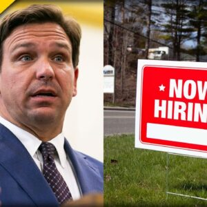 DeSantis Puts Freeloaders on Notice with New Rules for Unemployment Benefits