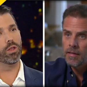 Don. Jr SLAMS Media for CRYSTAL CLEAR Double Standards when it Comes to Hunter Biden
