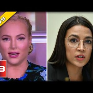 """Meghan McCain Goes OFF on AOC during EPIC Rant on """"The View"""""""