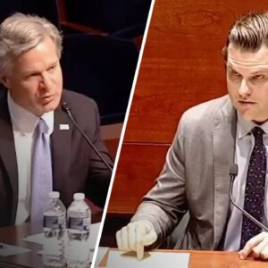 """Rep. Gaetz GOES OFF on FBI Director Over """"COVID-19 Cover Up"""""""