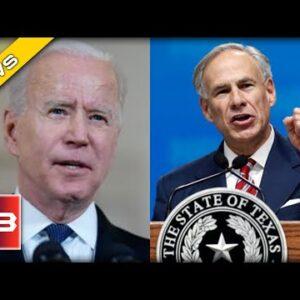 TX Gov. Abbott UNLEASHES on Biden - Reveals How his Border Crisis is Killing America