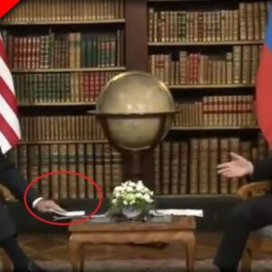 EVERYONE Noticed What was in Biden's Hand while Meeting with Putin and Realized We Are DOOMED