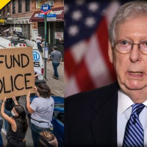 WATCH Mitch McConnell UNLEASH on Dems who Want to Defund the Police