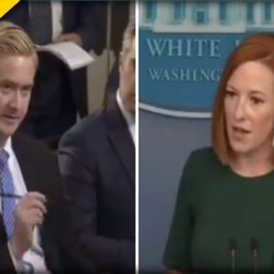 FOX Reporter Peter Docy GRILLS Psaki over Biden's Defense of TX Dems who Fled State