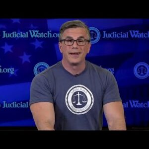 Big Tech Can't Censor THIS! Get YOUR Official Judicial Watch Shirt Now!