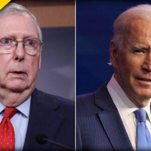 Mitch McConnell Sounds OFF on Joe Biden's Disgraceful Civil War Comparison