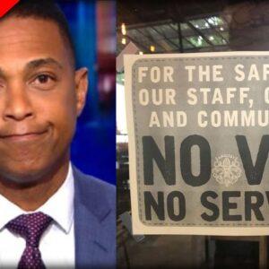 Don Lemon Announces Plan For the Unvaxxed REVEALING CNN's True Agenda