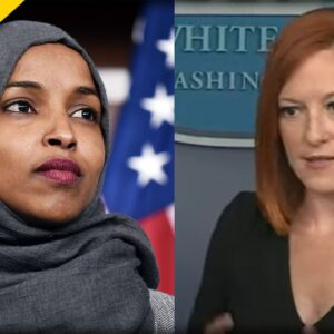 SICK. Jen Psaki RUNS COVER for Ilhan Omar after she REFUSES to Apologize for Horrific Comments