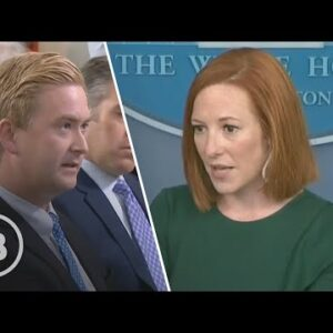 Fox Reporter STUNS Psaki With Question She Clearly Wasn't Expecting