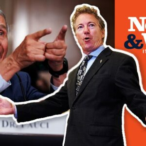 Rand Paul Says Fauci LIED, Fauci LASHES BACK Under Pressure | The News & Why It Matters | Ep 824