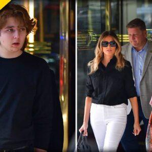 New Photos of 15-Year-Old Barron Trump Stun ALL