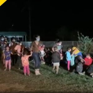 Illegal Migrants Caught On Camera Showing Sick Symptoms After Border Crossing