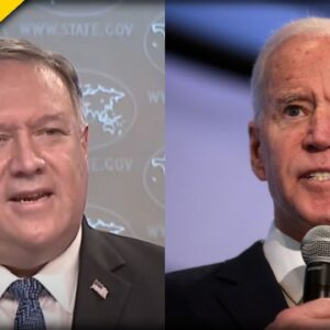DEEP COVER UP: Pompeo Says Biden Not Stopping What China Started Summer Of 2019