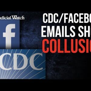 Caught: CDC Coordinated with Facebook on COVID Messaging and 'Misinformation'