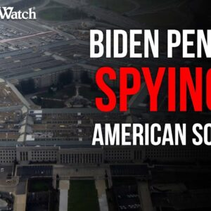 Biden Pentagon SPYING on Social Media Posts of Troops w/ Conservative Views?
