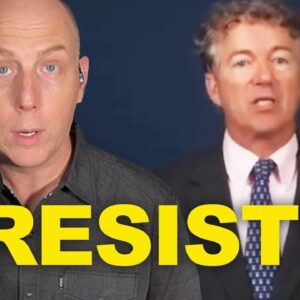 """RAND PAUL SAYS RESIST! """"THEY CAN'T ARREST ALL OF US!"""""""