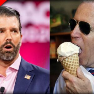 Don Jr just Figured out Why Old Joe is always eating Ice Cream and it makes PERFECT sense