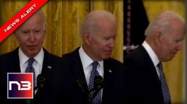 Biden Whispers Remark, instantly Stuns Reporters Before Leaving Room