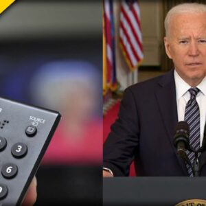 HAHA! Here's What Biden Staffers Do when He Speaks on Live TV