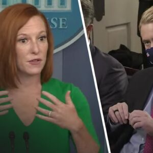 Psaki MELTS When Fox Reporter HAMMERS Her With Brutal Line of Questioning