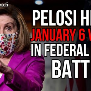 Nancy Pelosi HIDING January 6 Videos in Federal Court Battle