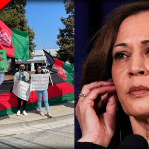 YES! GOP Trolls Kamala After Protesters Disrupt Her Shilling For Newsom