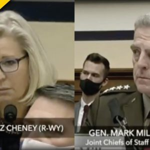 Liz Cheney Stabs Republicans In The Back a Second Time In Front of General Mark Milley