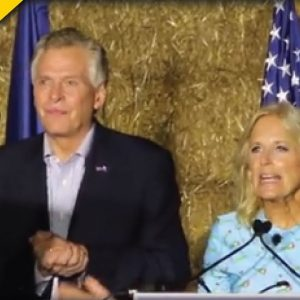 Jill Biden Goes to Virginia And Immediately Gets Drowned Out By Crowd At Terry McAuliffe